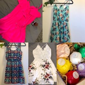 Dresses & Skirts - Dresses lot with free gift S-M